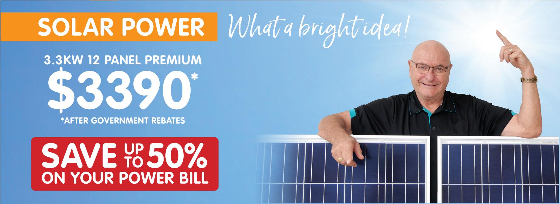 Premium Solar Panels