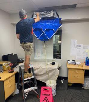 Sanitising Air Conditioning