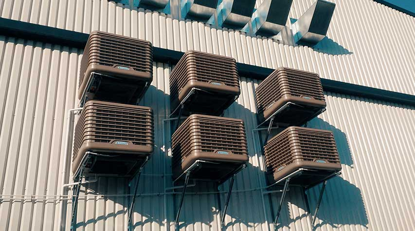 Commercial Evaporative AC Installation Perth