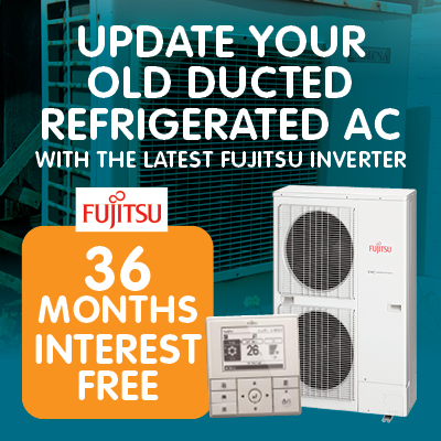 Up Your Ducted Refrigerated AC