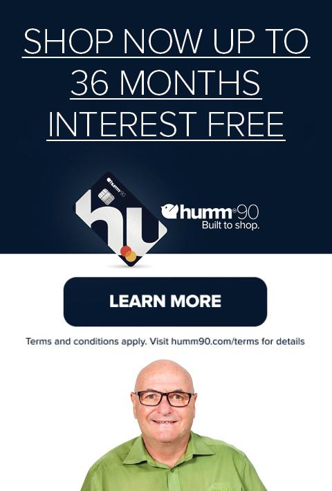 Humm - 36 Months Interest Free